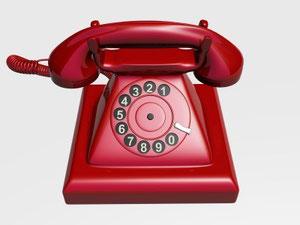 altes, nostalgisches Telefon