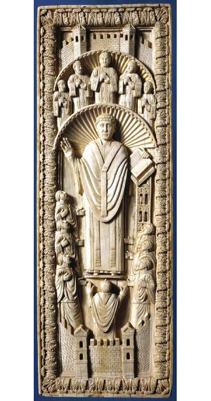 Blog Scola Metensis-plaque d'ivoire messin-musée de Cambridge