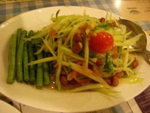 レモンツリー(レストラン)で食べたソムタム
