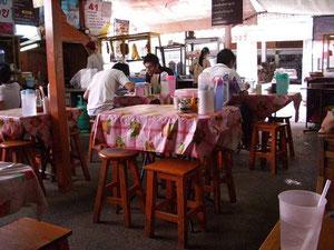 シリマンクラン通りにあるローカル食堂