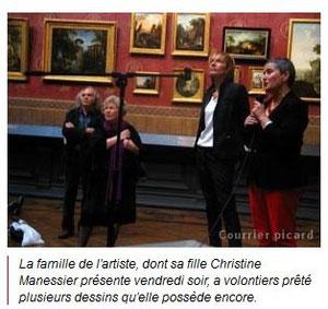 Dessins pour un centenaire, Alfred Manessier : l'oeuvre graphique à Amiens