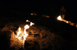 brennende steine, yanartas cirali