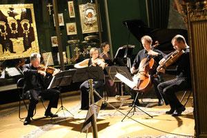 Olga Solovieva and RTE Vanbrugh Quartet in Kremlin (Armory Chamber)