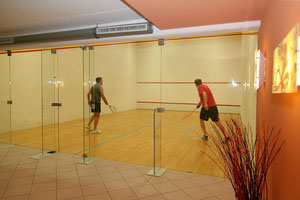 Squashregeln sind leicht zu verstehen