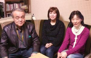 吉田さん、愛沙さん、Miyukiさん