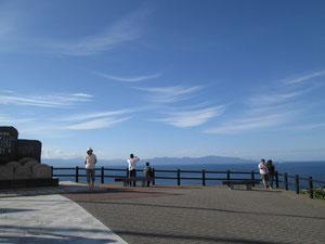 意外に近い北海道(天気が良くてラッキー!)