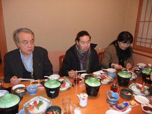 食事会(吉田さん、畠山夫妻)