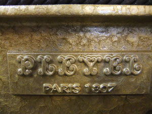PLEYELは1807年からPARISで製造