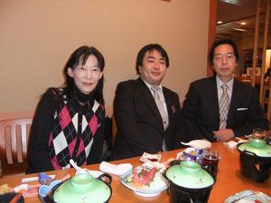 Miyuki、高橋先生、Takano