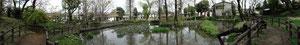 片倉城趾公園の風景1
