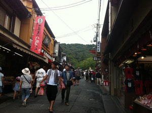 清水寺の坂道