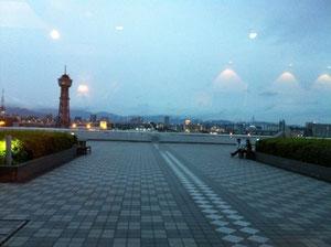 中央埠頭の夕暮れ