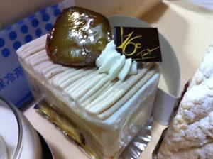 16区栗のショートケーキ