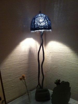 天使の羽のランプ