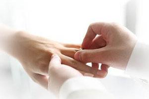 結婚式指輪