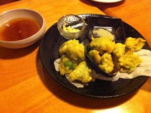 アボガドの天ぷら