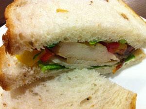 上島珈琲サンドイッチ