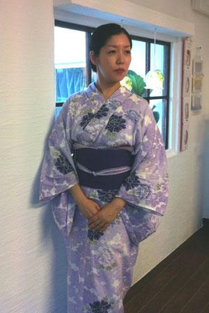 日本舞踊「椿屋」藤間佳福先生