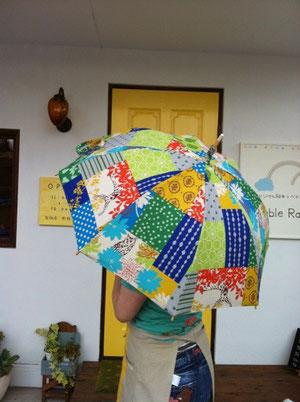ハンドメイド日傘