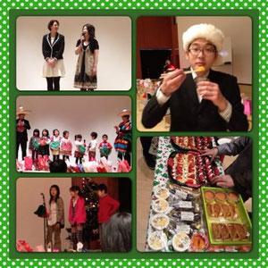 ハッピーデイズイングリッシュハウスクリスマスパーティ2012