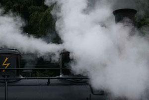 Mit viel Dampf in Koblenz