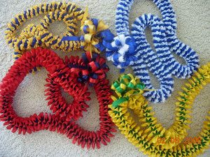 K D Ribbon Leis   K D Crafts Ribbon Leis