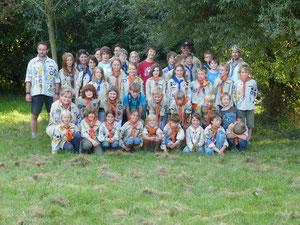 Unser Stamm bei der Übergabe 2012