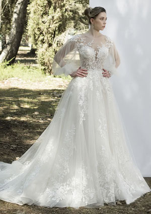 wholesale dealer b53d7 11a0c Brautkleid im Prinzessinnen-Look - Gina's Sposa, Braut- und ...