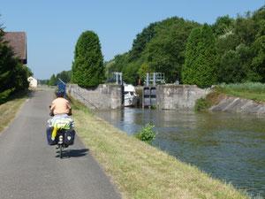 Le canal du Doubs