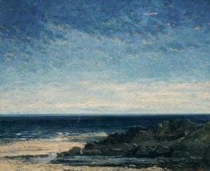 GUSTAVE COURBET - Il mare