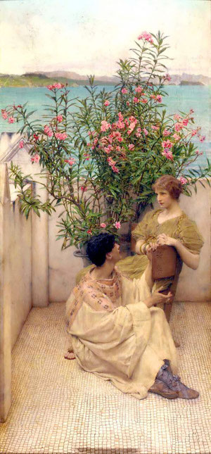 LAWRENCE ALMA-TADEMA - The Courtship