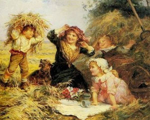 FREDERICK MORGAN - Young harvesters