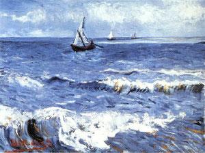 Van Gogh - Paesaggio marino