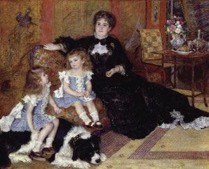 RENOIR - Madame Charpenter e le sue figlie