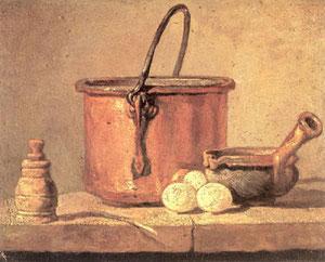 Chardin - Il paiolo