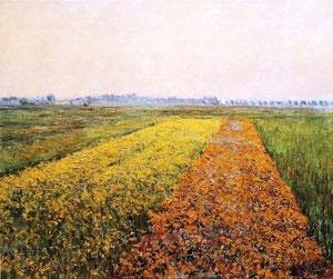 Paesaggio di GUSTAVE CAILLEBOTTE