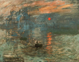 Monet - Impression, Sol levant