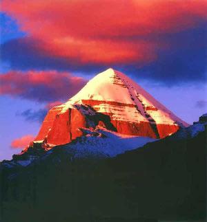 Святой Кайлаш - трон бога Шивы