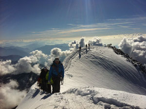 Gipfelgrat Weissmies