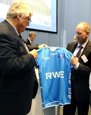 Bodo Hombach (l.) und Bernd Tischler. Foto: Stadt Bottrop