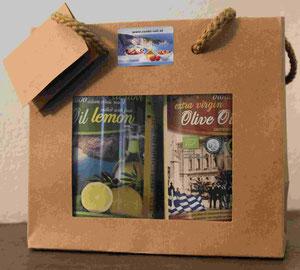 Geschenksets mit Olivenöl