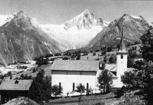 alte Pfarrkirche, 1878/79 erbaut, Südansicht
