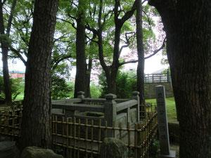 岡崎の産湯の井戸