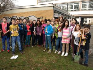 Teilnehmer der Schulgarten AG