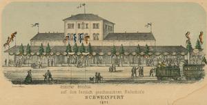 Der Stadtbahnhof 1871