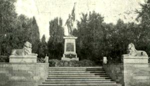 Der Eingang zum Alten Friedhof vor dem 2. Weltkrieg