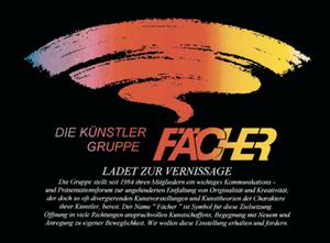 galerie time Vernissage und Ausstellung - Künstlergruppe Fächer