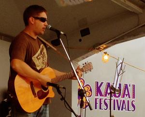 May 2012 Mike @ Waimea Town Celebration: Kauai