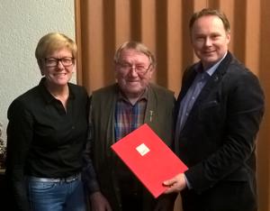 Elke Glaß, Max Nicklas und Thomas Bauske
