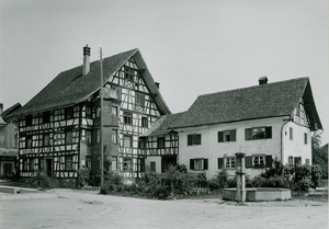Historische Aufnahme Gasthof zum Hirschen Oberstammheim